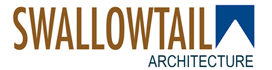 Swallowtail Architecture Sticky Logo