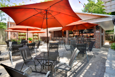 Montreaux Bar & Patio, back patio addition