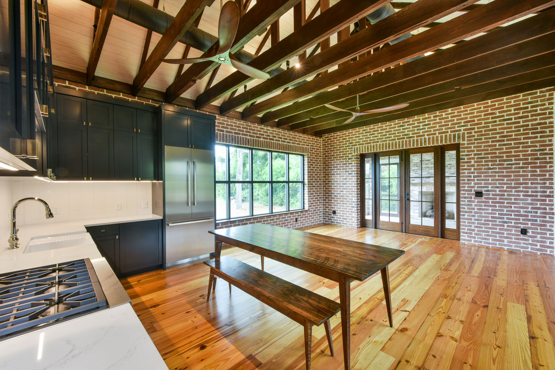 Swallowtail Architecture designs home from converted military building on Sullivan's Island