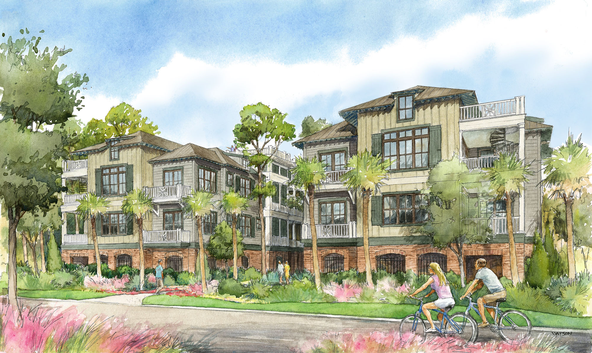 Riverview Villas Exterior Rendering