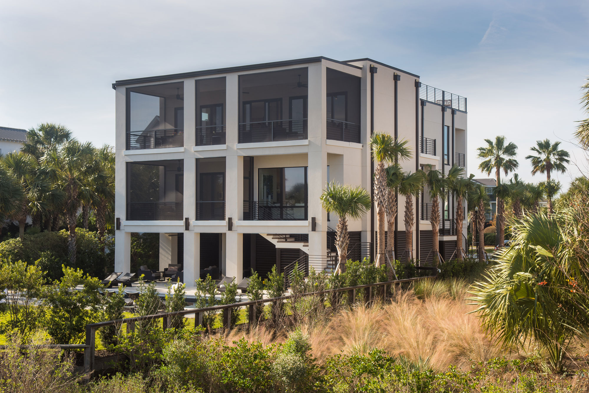 Modern Style Beach Home on Sullivan's Island