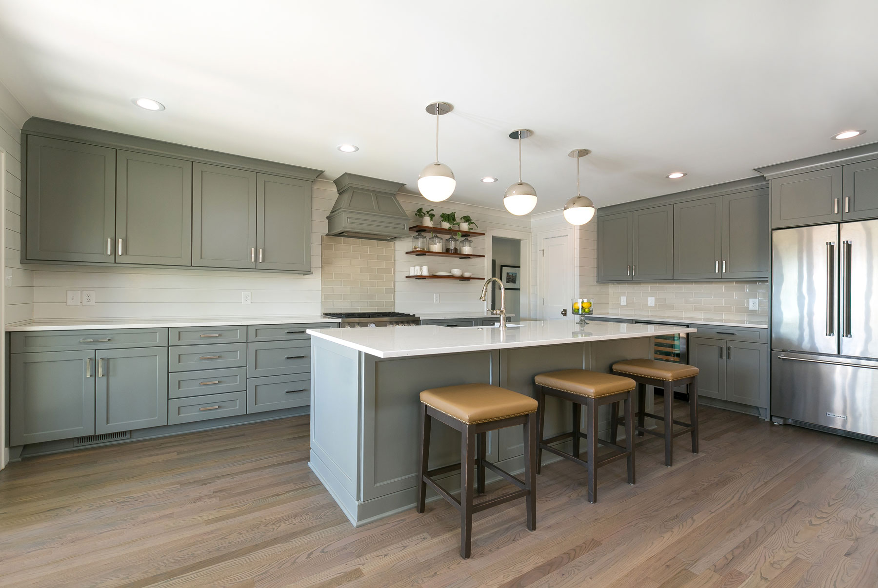 High end kitchen renovation on Sullivan's Island