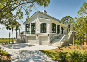Seabrook Island Renovation of 1990s Marsh Side Home into Modern Beauty