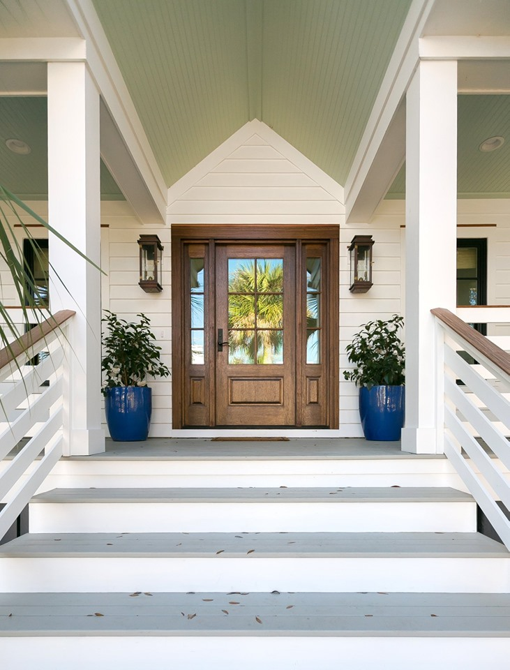 Front Porch Design in Renovation by Swallowtail Architecture